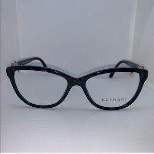 Bulgari 4132B Black Cat Eye Eyeglasses